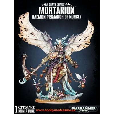DEATH GUARD MORTARION PRIMARCH OF NURGLE - GAMES WORKSHOP 43-49