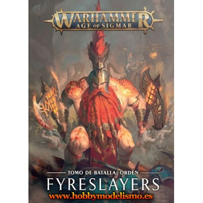 BATTLETOME FIRESLAYER EN ESPAÑOL - GAMES WORKSHOP 84-01-03