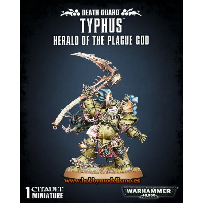 DEATH GUARD TYPHUS, Herald of the Plage God - Games Worshop 4353