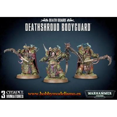 DEATH GUARD DEATHSHROUD BODYGUARD - GAMES WORKSHOP 43-50