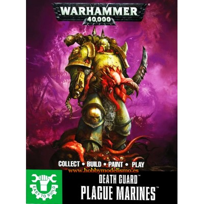 PLAGUE MARINES EASY TO BUILD - GAMES WORKSHOP 43-30