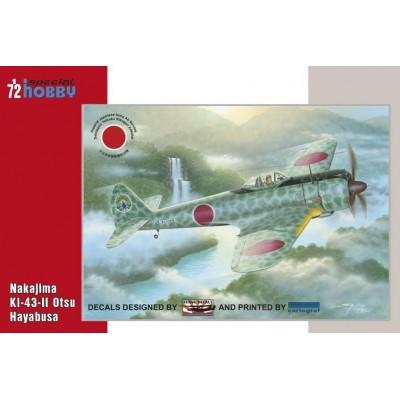 """NAKAJIMA Ki-43-II Otsu Hayabusa """"OSCAR"""" -1/72- Special Hobby 72193"""