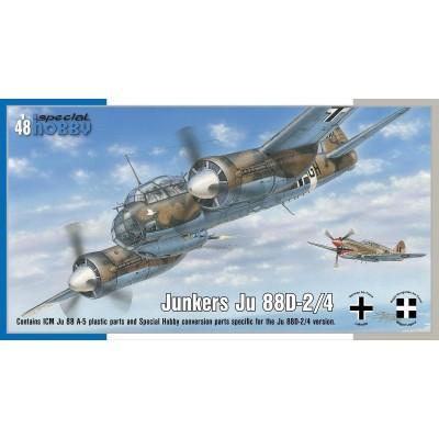 JUNKERS JU-88 D-2/4 -1/48- Special Hobby SH48178
