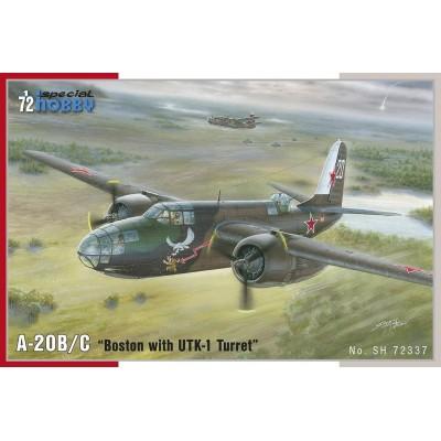 DOUGLAS A-20 B/C BOSTON (Torre UTK-1) -1/72- Special Hobby SH72337