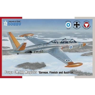 FOUGA CM.170 MAGISTER (Alemania, Finlandia y Austria) -1/72- Special Hobby 72373