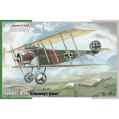 FOKKER D.II -1/32- Special Hobby SH32076