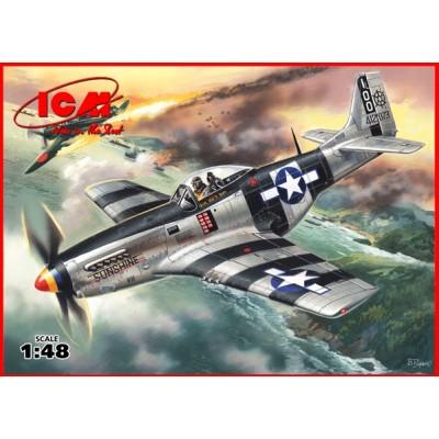 NORTH AMERICAN MUSTANG P-51K - ESCALA 1/48 - ICM 48154