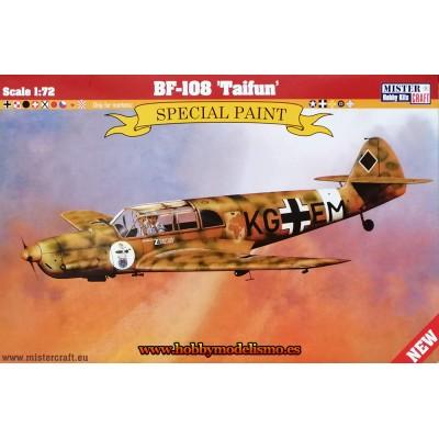 MESSERSCHMITT BF-108 Taifun 1/72 - Mister Craft Hobby 042684