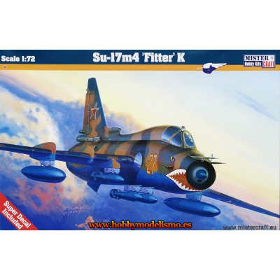 SUKHOI SU-17M4 FITTER K - ESCALA 1/72 - MISTER CRAFT 040161