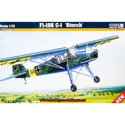 FIESELER Fi-156 C STORCH C/ESP - Mister Craft 042110 - escala 1/72