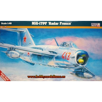 MIG-17PF RADAR FRESCO - ESCALA 1/72 - MisterCraft 060039