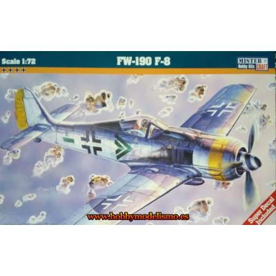 FOCKE WULF FW-190 F-8 - ESCALA 1/72 - MISTER CRAFT 030124