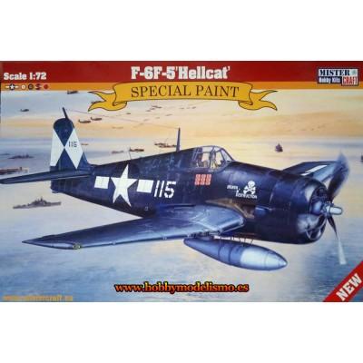 GRUMMAN HELLCAT F6F-5 - ESCALA 1/72 - MISTER CRAFT 042622