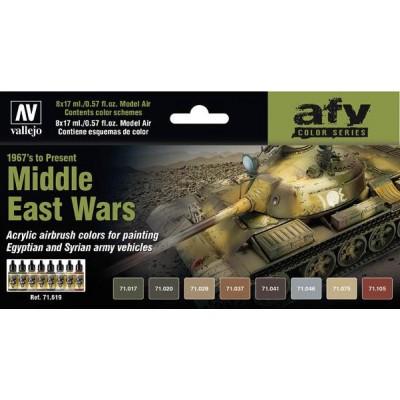 AFV Series: GUERRAS ORIENTE MEDIO - Acrylicos Vallejo 71619
