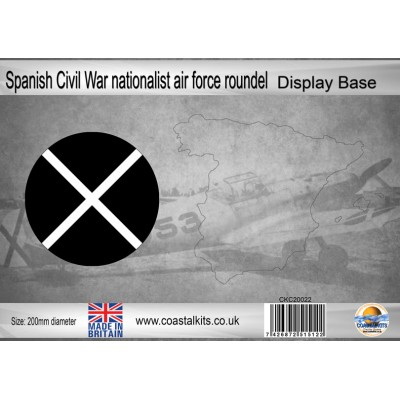 BASE CIRCULAR NACIONALISTA GUERRA CIVIL COASTAL KITS 20022