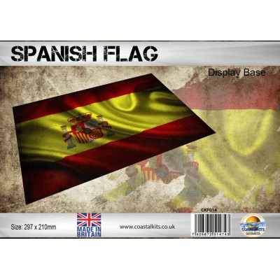 BASE BANDERA ESPAÑOLA (297 x 210 mm) Coastal Kits CKF014