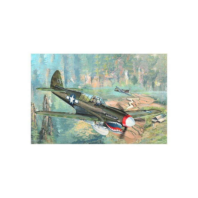 Trumpeter 02212 1//32 P-40N War Hawk Model Kit