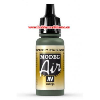 PINTURA ACRILICA VERDE ACORAZADO (17 ml) - Acrilicos Vallejo 71014