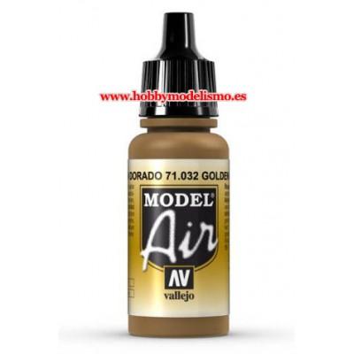 PINTURA ACRILICA MARRON DORADO (17 ml)