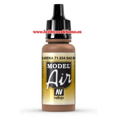 PINTURA ACRILICA MARRON ARENA (17 ml)