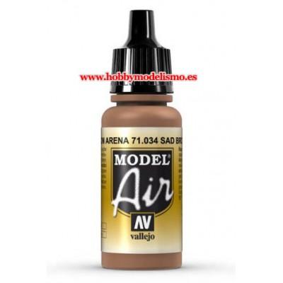 PINTURA ACRILICA MARRON ARENA (17 ml)