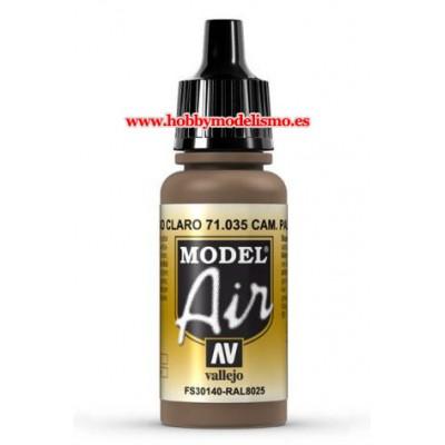 PINTURA ACRILICA CAMUFLAGE PARDO CLARO (17 ml)