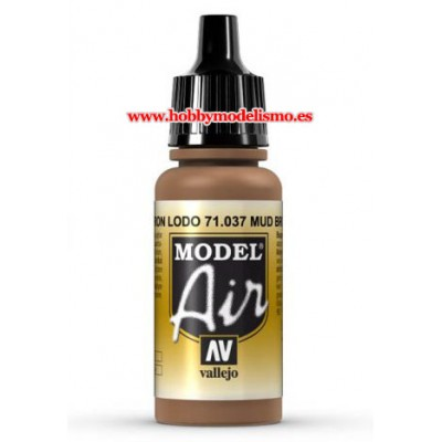 PINTURA ACRILICA MARRO LODO (17 ml)