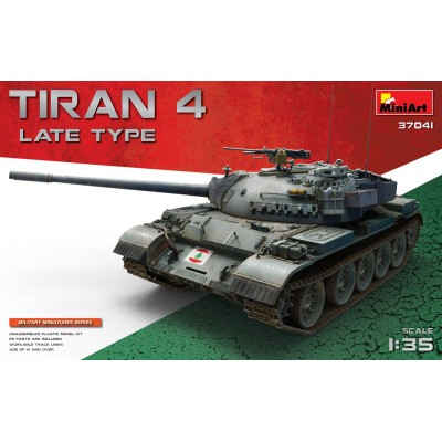 CARRO DE COMBATE TIRAN 4 Late -1/35- MiniArt 37041