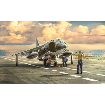 McDONNELL DOUGLAS AV-8 A HARRIER (Matador) C/Esp -1/72- Italeri 1410