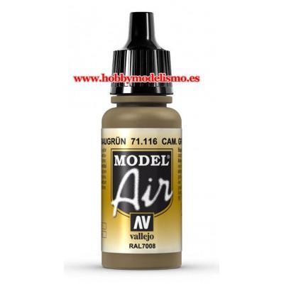PINTURA ACRILICA CAMUFLAJE GRIS VERDE (17 ml) RAL7008