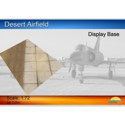 PISTA DE AVIACION DESIERTO (297 x 210 mm) -1/72- Coastal Kits CKS310-72