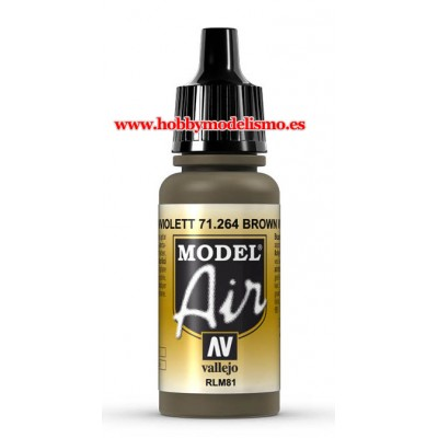 PINTURA ACRILICA BRAUNVIOLETT RLM81 (17 ml)