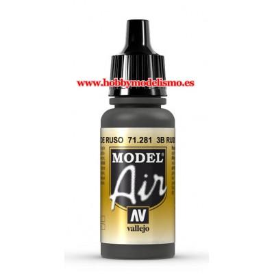 PINTURA ACRILICA VERDE RUSO 3B (17 ml)