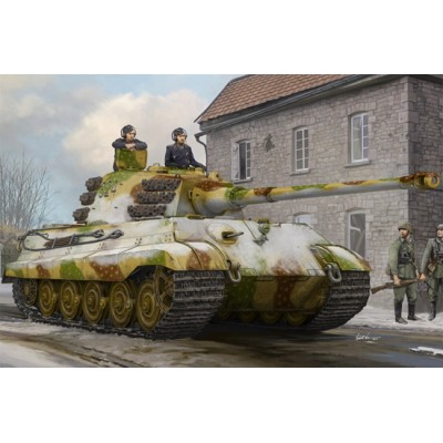 CARRO DE COMBATE Sd.Kfz. 182 TIGER II (Henschel, Febrero 1945) -1/35- Hobby Boss 84532