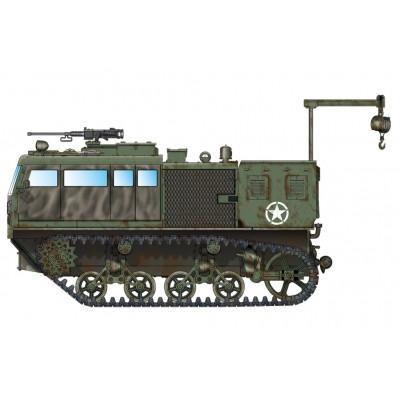 TRACTOR ARTILLERIA M-4 (Obus 203 mm) - Hobby Boss 82921 - escala 1/72