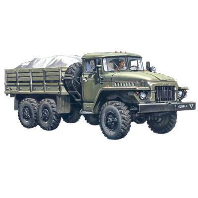 CAMION URAL-375 D -1/72- ICM 72711