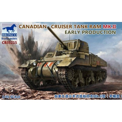 CARRO COMBATE RAM MK-II Early (Canada) -Escala 1/35- Bronco Model CB35215