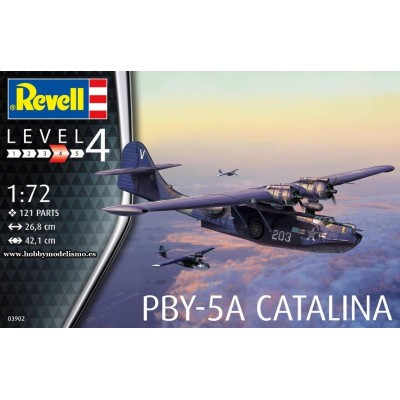 CONSOLIDATED PBY-5 A CATALINA -1/72- Revell 03902