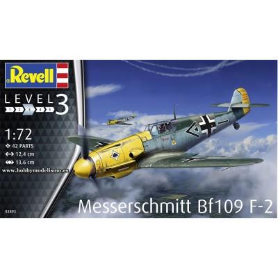 MESSERSCHMITT Bf-109 F2 -Escala 1/72- Revell 03893