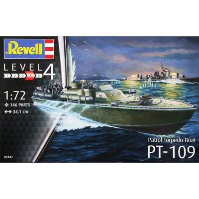 LANCHA TORPEDERA PT-109 -1/72- Revell 05147