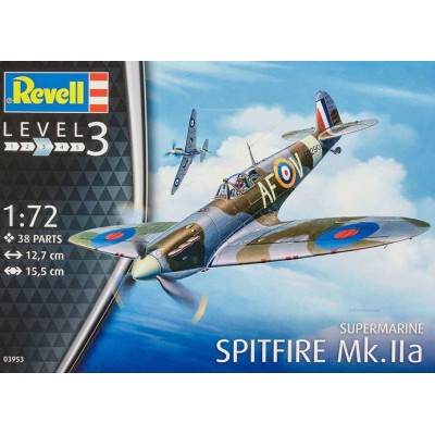 SUPERMARINE SPITFIRE MK-IIa -1/72- Revell 03953