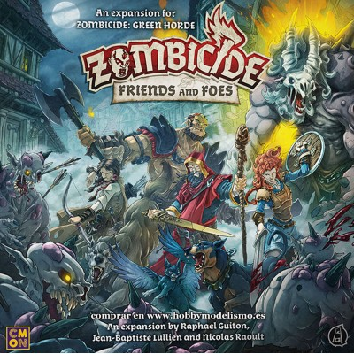 ZOMBICIDE FRIENDS AND FOES - GUILLOTINE GAMES