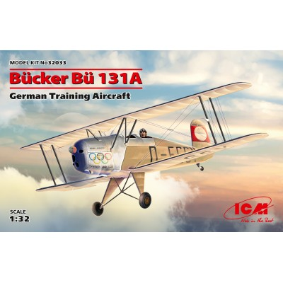 BUCKER Bu-131 A -1/32- ICM 32033