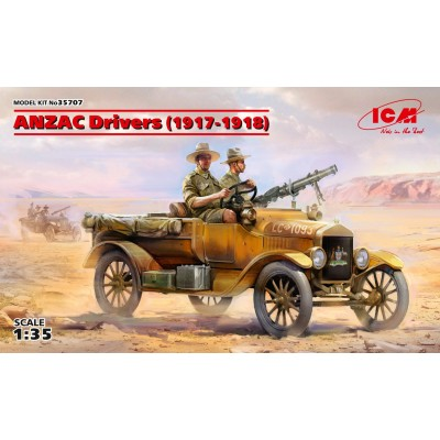 CONDUCTORES ANZAC -1/35- ICM 35707