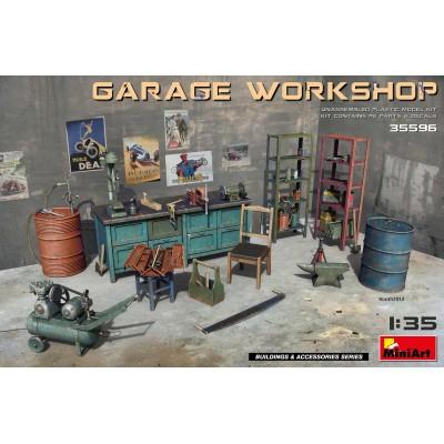 ACCESORIOS DE GARAGE -1/35- MiniArt 35596