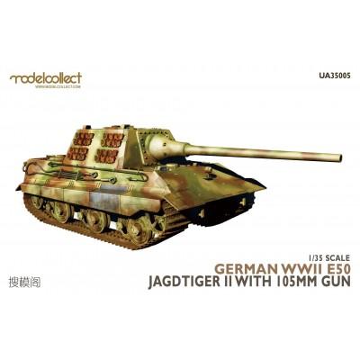 CAZACARROS E-50 Jagdtiger II -1/35 - Modelcollect UA35005