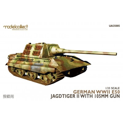 CAZACARROS E-50 Jagdtiger II -Escala 1/35- Modelcollect UA35005