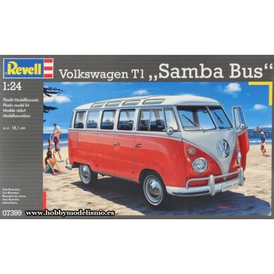 VOLKSWAGEN T1 SAMBA BUS ESCALA 1/24 - REVELL 07399
