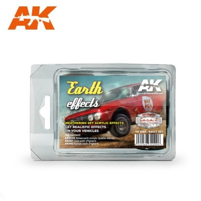 EARTH EFFECTS RALLY SET - AK Interactive 8089