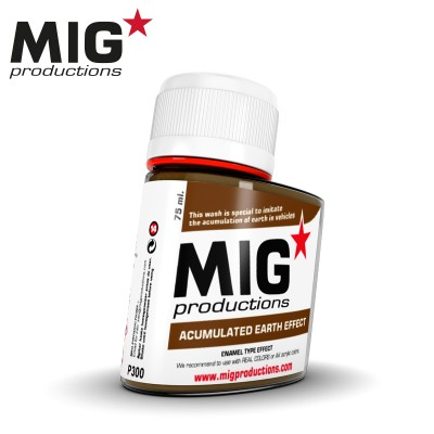 ACUMULATED EARTH EFFECT (75 ml) - MIG Productions P300